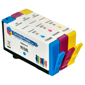 Compatible- HP- 935XL- C/M/Y- Ink- Cartridge- Pack (Own Brand)