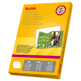 "Kodak- Greeting- Cards- 5""x7""- (Pack- of- 20)"