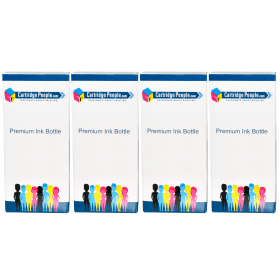 Compatible- Epson- 113- Black- and- Colour- Ink- Bottle- 4- Pack (Own Brand)