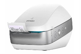 Dymo- LabelWriter- Wireless- Thermal- Transfer- Label- Printer- Silver / White -(1980562)