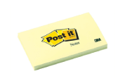 3M- Post-it- Notes -76mm- x -127mm - Yellow