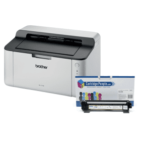 BBrother- HL-1110- Mono- Laser- Printer- &- Cartridge- People- TN-1050- Black- Toner- (Special Deal)