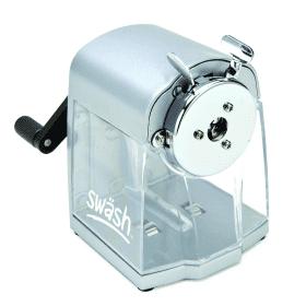 Swash- Metal- Desktop- Pencil- Sharpener