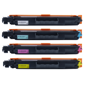 Compatible- Brother- TN-243BK/C/M/Y- Black- and- Colour- Toner- Cartridge- 4- Pack (Own Brand)