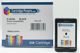 Compatible- HP- 302XL- Black- Ink- Cartridge- (Own- Brand)