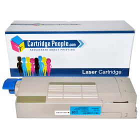 Compatible- OKI- 43866107- Cyan -Toner- Cartridge