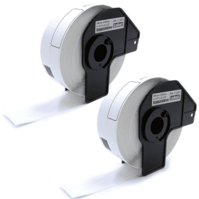 Compatible- Brother- DK-11201- 29mm x 90mm- P-Touch- Labels- (400 Labels) - 2 Pack