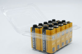 Duracell- Industrial- 9V- Batteries - Tub- of- 10