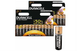 Duracell- AA -Batteries - Pack- of- 24