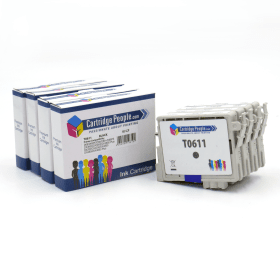Compatible- Epson- T0615- Black- &- Colour- Ink- Cartridge- 4- Pack (Own Brand)