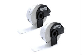 Compatible- Brother- DK-11201- 29mm x 90mm P-Touch- Labels -(400 Labels) - 2 -Pack