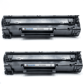 Cartridge- People- HP- 85A- (CE285A)- Compatible- Black- Toner- Cartridge- Twin- Pack (Own Brand)