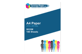 Cartridge- People- A4- Copy- Paper- 80gsm- 100- SHEETS- ONLY