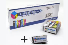 Compatible- Canon- PGI-525PGBK, CLI-526 BK/C/M/Y- Black -& Colour- Ink -Cartridge- 6 -Pack- (Own- Brand)