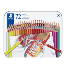 Staedtler- 175- Coloured- Pencils- (72 Pack)