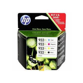HP 932XL / 933XL- Original- High- Capacity- Ink- Cartridge- 4 Pack