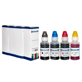 Cartridge- People- Compatible- Epson- 104- Black- &- Colour- Ink- Bottle- 4 -Pack (Own Brand)