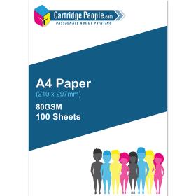 a4 white paper 100 sheets