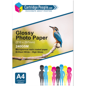 240g- A4- Glossy- Photo- Paper- x 20- (Own- Brand)