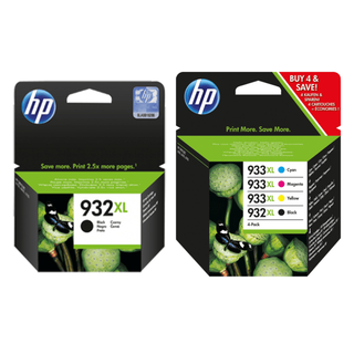 HP 934 ink cartridges