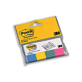3M- Post-It- Note- Assorted- Markers- Pack- (4- Pack)