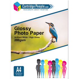 Cartridge- People- A4- Glossy- Photo- Paper- 200gsm- 50- sheets