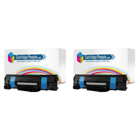 Cartridge- People- HP- 78A- (CE278A) Compatible- Black- Toner- Cartridge -Twin -Pack (Own Brand)