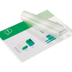 GBC- A4- Glossy- Laminating- Pouches- 2 x 75 Microns (100 Pack)