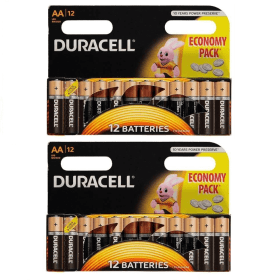 24 pack of Duracell AA Batteries