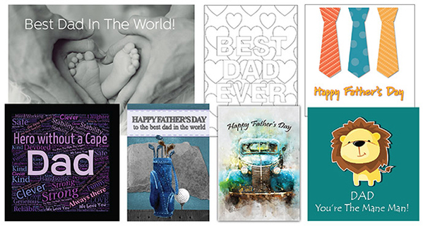 fathers day downloadable cards