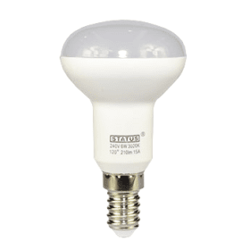 E14- Small- Screw- LED- 6W -R50- Spotlight- Bulb- (40W Equivalent) 470- Lumen - Warm -White- Frosted