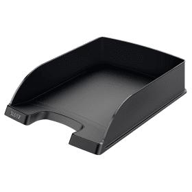 Leitz- 5227- Plus- Letter- Tray- Black -(5 Pack)