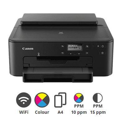 Canon- PIXMA- TS705- A4- Colour- Inkjet- Printer
