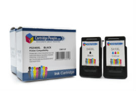Compatible- Canon- PG-540XL / CL-541XL- Black- &- Colour- High- Capacity- Ink -Cartridge- 2 -Pack -(Own Brand)