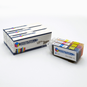 Compatible Canon CLI-526 Colour Ink Cartridge 3 Pack (Own Brand)