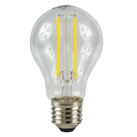 E27- Screw- LED- 7W- Filament- GLS- Bulb (60W Equivalent) 806- Lumen - Warm -White- Clear