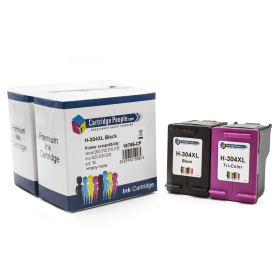 Compatible- HP- 304XL- Black- &- Colour- Ink- Cartridge- Pack- (Own Brand)