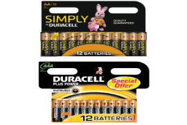 Duracell- AA- and- AAA- Battery- Bundle - Pack- of- 24