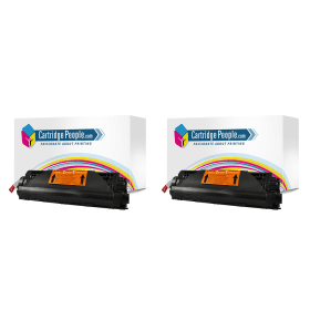 Cartridge- People- HP- 35A- (CB435A)- Compatible- Black- Toner- Cartridge- Twin- Pack (Own Brand)