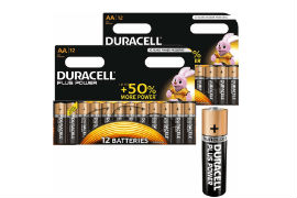 Duracell- AA- Batteries - Pack- of- 24