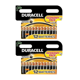 24 pack of Duracell AAA Batteries