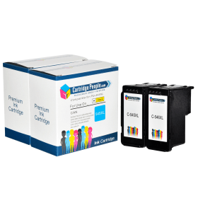 Own- Brand- Canon- PG-545XL / CL-546XL- Black- &- Colour- High- Capacity- Ink- Cartridge -2 -Pack