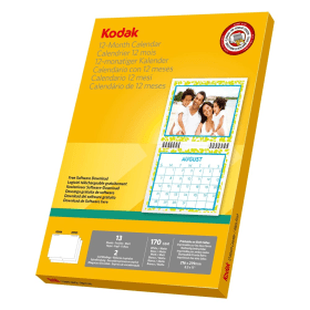 Kodak- 12 -Month- Calendar- Kit
