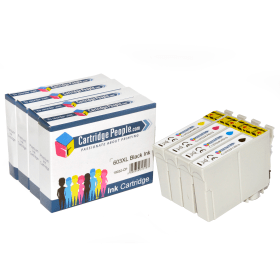 Compatible- Epson- 603XL- BK/C/M/Y- Ink- Cartridge- High- Capacity- Multipack