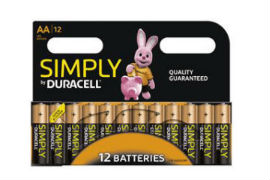 Duracell- AA- Batteries - 12- Pack