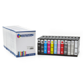Compatible- Canon- PGI-29- Black- &- Colour- Ink- Cartridge- 12- Pack (Own Brand)