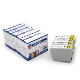 Compatible- Epson- 34XL- Black- &- Colour- High- Capacity- Ink- Cartridge- 5- Pack- (Own Brand)