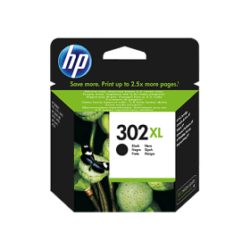 HP- 302XL -Black- High- Capacity- Ink- Cartridge -(Original)