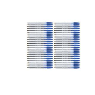 50 pack of blue ballpoint pens