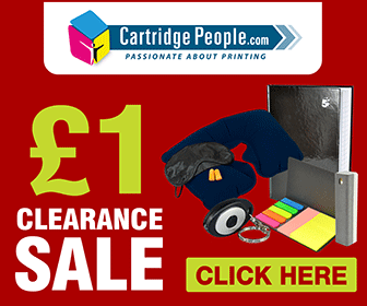 one pound clearance sale
